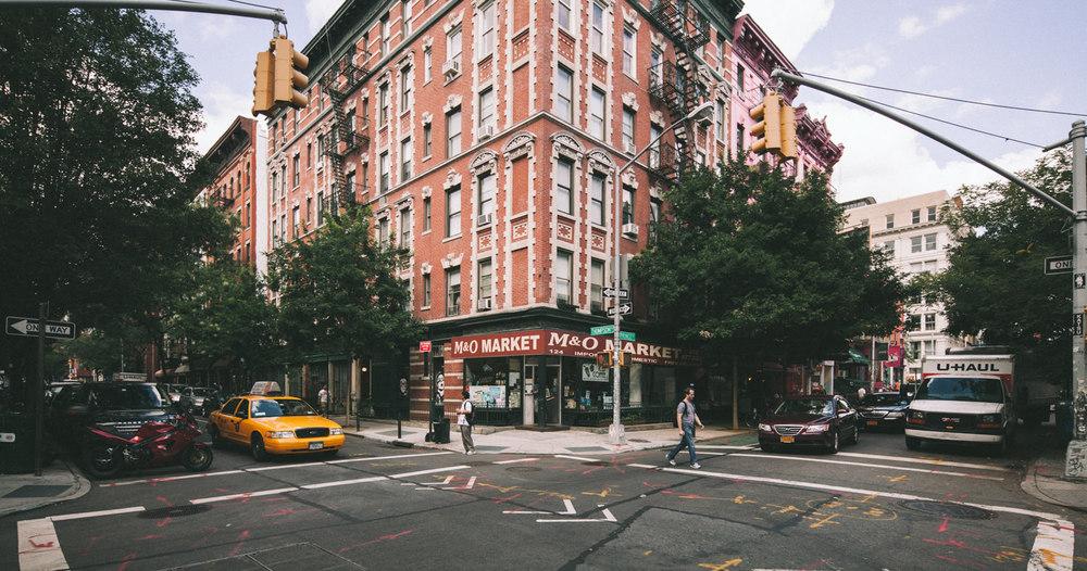 Street Corner, NYC