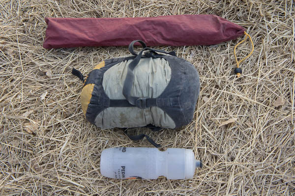 Poles tent/tarp compressed water bottle for size comparison & Wechsel Pathfinder - Review u2014 Glenn Charles