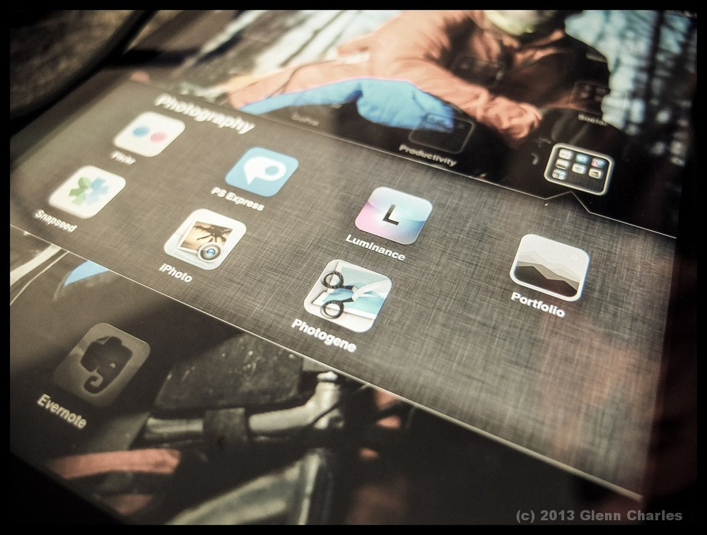 Snapseed (Nik/Google) is by far the best editing app on the Ipad