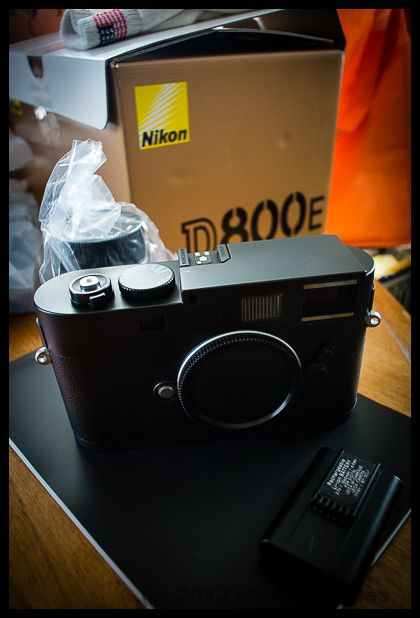 D800E waiting to be shipped