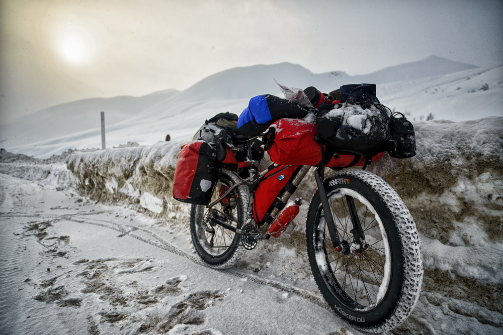 Two Months by Fatbike, Ti Mukluk - Alaska 2013
