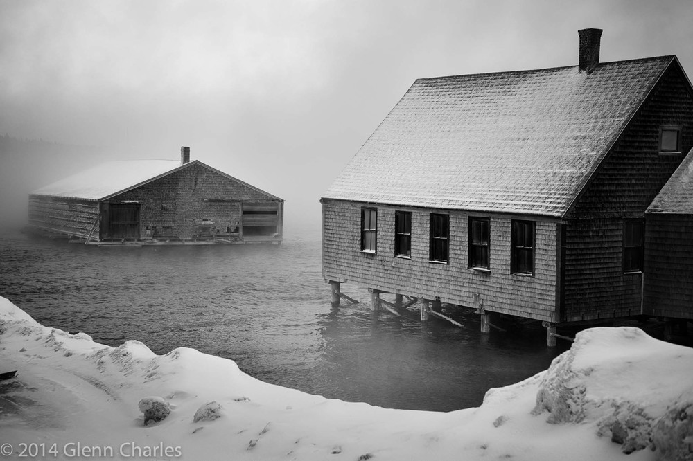 Downeast Maine, Winter 2014 -- Leica Monochrom + Lux 50