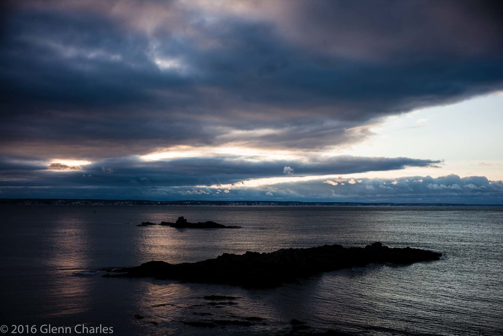 First Sunrise in the US, West Quoddy Head, Maine - Leica M240, 90APO