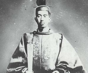 Japanese Emperor Hirohito.