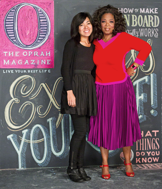 O Magazine Cover Feature