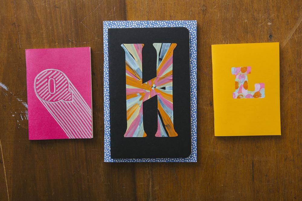 DIY Type Notebooks