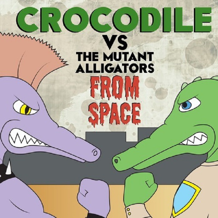 "Crocodile  Track: ""Somehow"" Album:  Crocodile Vs. The Mutant Alligators From Space    Official Site  