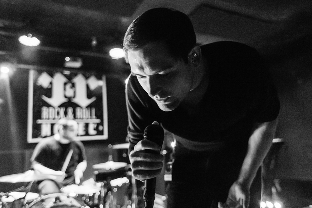 The Twilight Sad's James Graham at the Rock & Roll Hotel last Thursday. (Photo by Matt Condon)