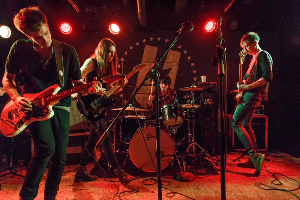 Wolf Alice at U Street Music Hall on February 27th, 2015