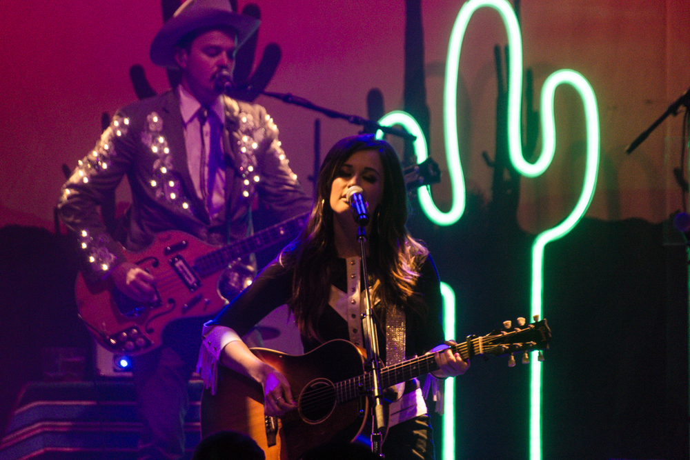 Kacey Musgraves performing at the 9:30 Club at the start of her most recent tour (Photo by Kevin Hill)