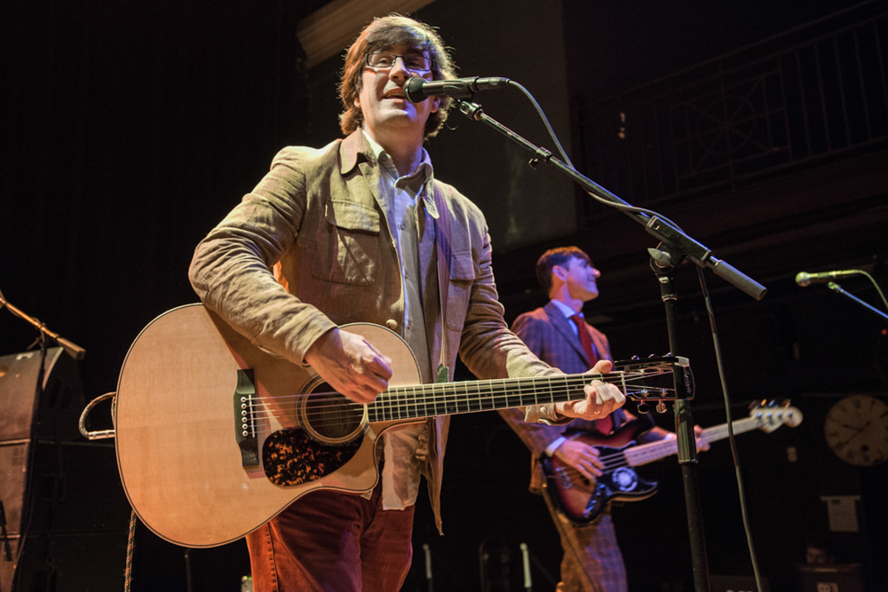 John Darnielle and his Mountain Goats performing at the 9:30 Club - 4/8/15 (photo by Matt Condon)