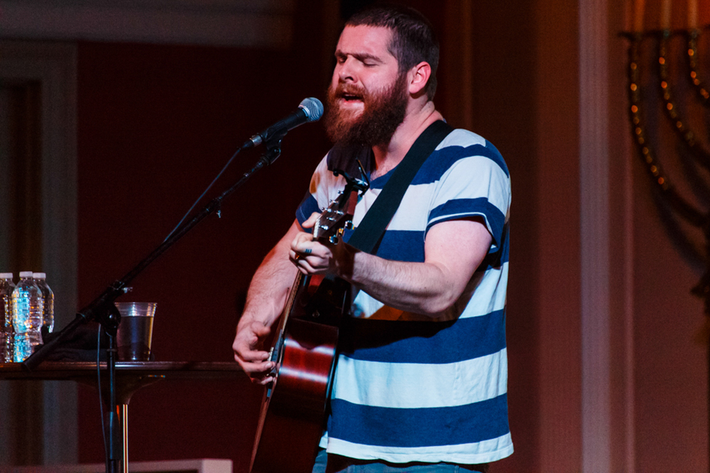Manchester Orchestra's Andy Hull going it alone at Sixth & I - 4.29.15 (Photo by Matt Condon)