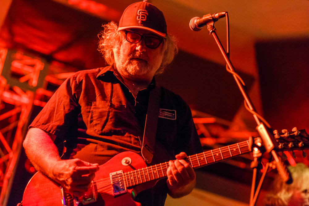 The Baseball Project's  Scott McCaughey covering the bases - 5/15/15 (photo by Matt Condon)