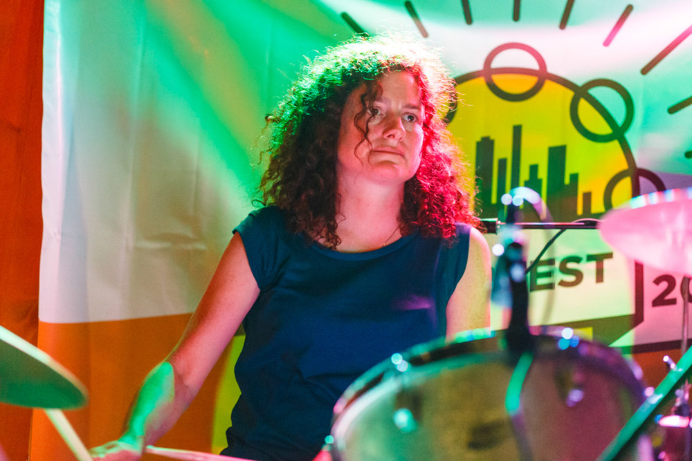 Poundsign at 2015's NYC PopFest