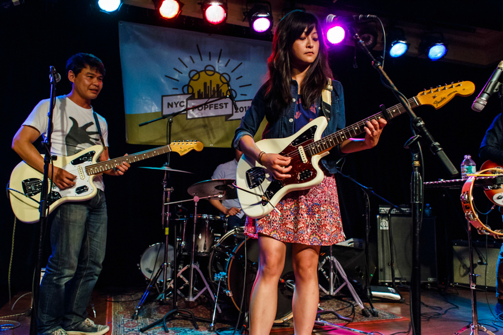 Starry Eyed Cadet at 2015's NYC PopFest