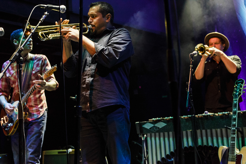 Calexico performing at the 9:30 Club - 6/5/15 (Photo by Matt Condon)