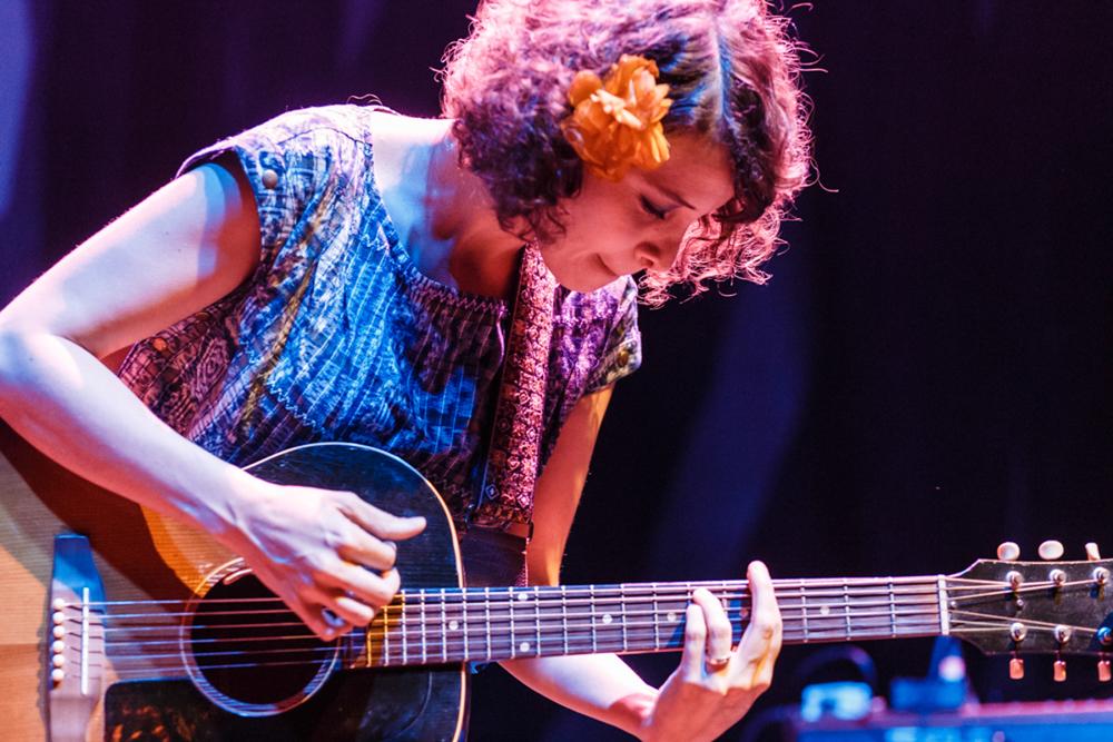 Baby Moreno performing at the 9:30 Club - 6/5/15 (Photo by Matt Condon)