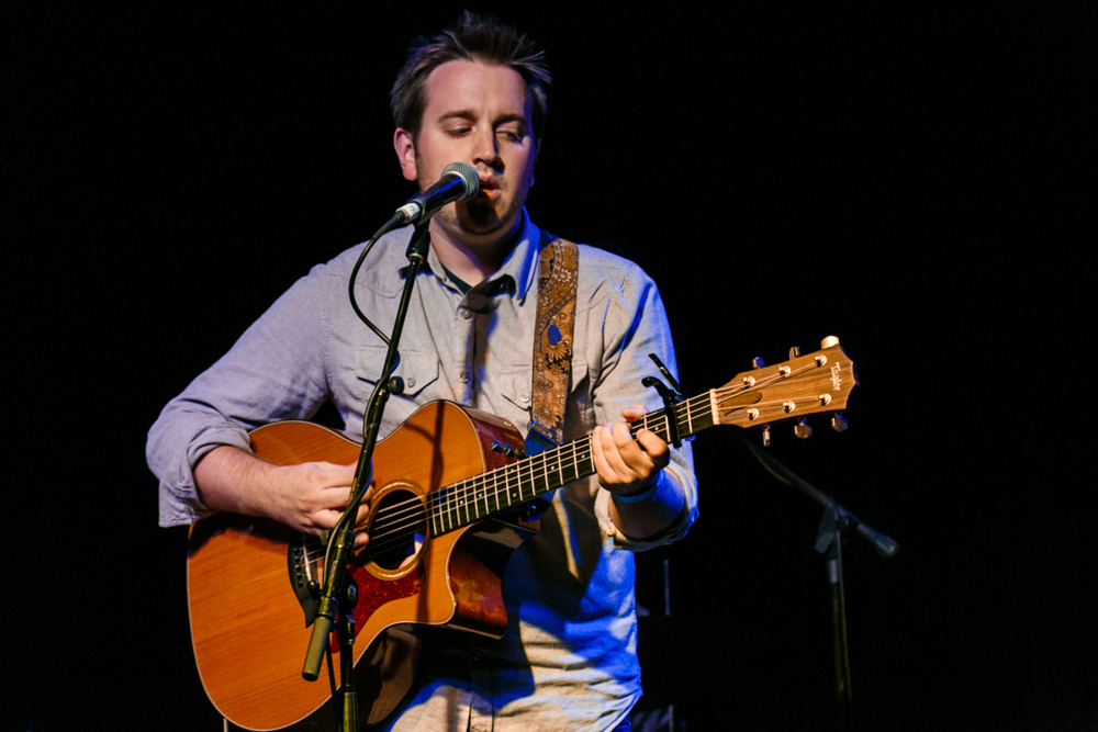 Aaron Tinjum opening for Sam Amidon @ Jammin' Java in Vienna, VA - 6/22/15