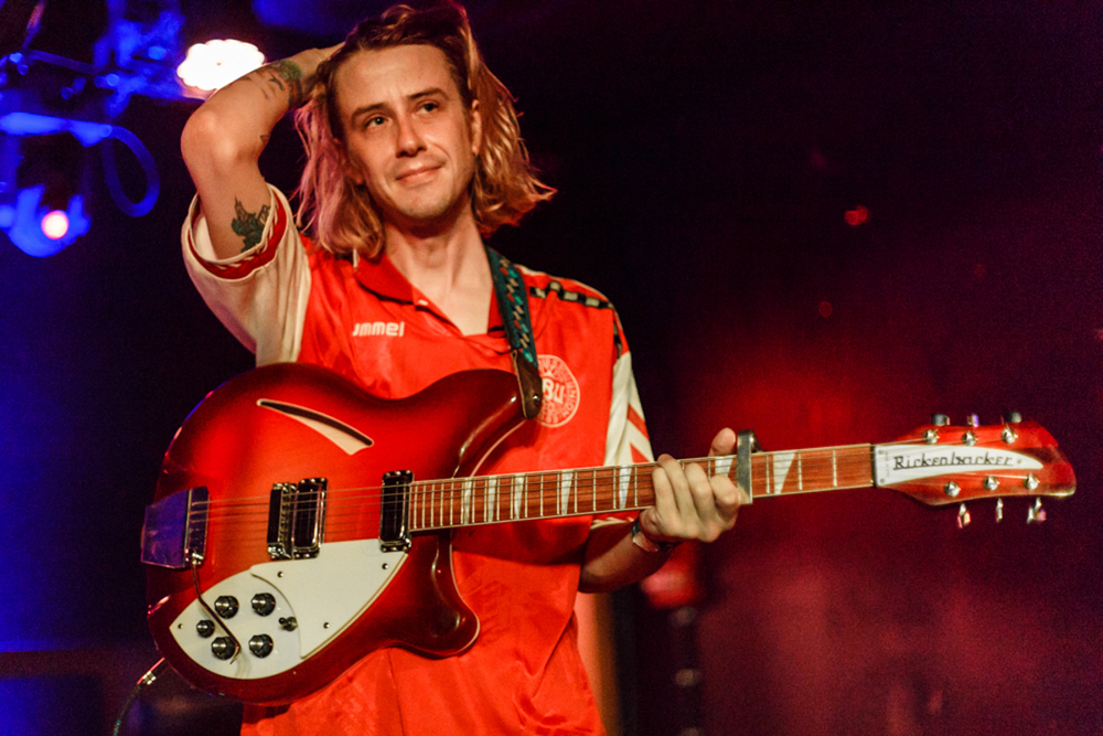 Christopher Owens at the Rock & Roll Hotel in Washington, DC - 6/19/15