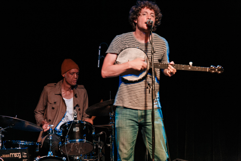 Sam Amidon bringing Appalachia into the future at Jammin' Java (photo by Matt Condon)