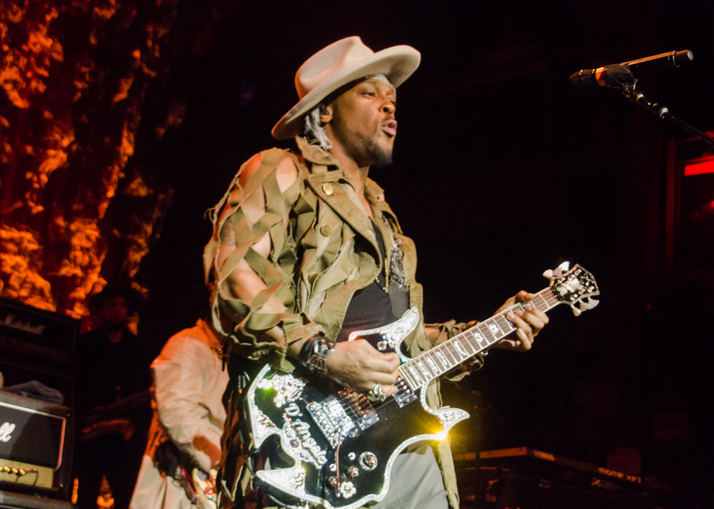 D'Angelo and The Vanguard positively SLAYING on their Second Coming tour at the Fillmore Silver Spring in Silver Spring, MD - 6/25/15 (Photo by Kevin Hill)