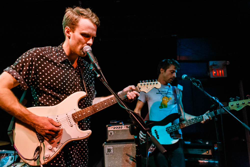 Big Hush opening for Swirlies at the Black Cat in Washington, DC on 7/6/15 - photo by Matt Condon