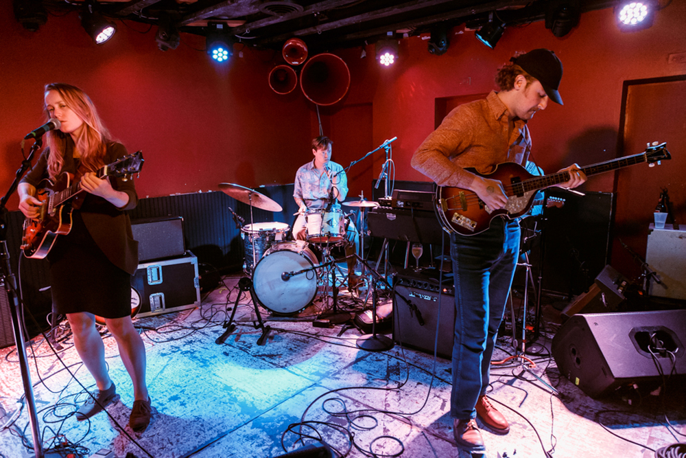 The Weather Station performing @ DC9 in Washington, DC - 7/17/15 (photo by Matt Condon)