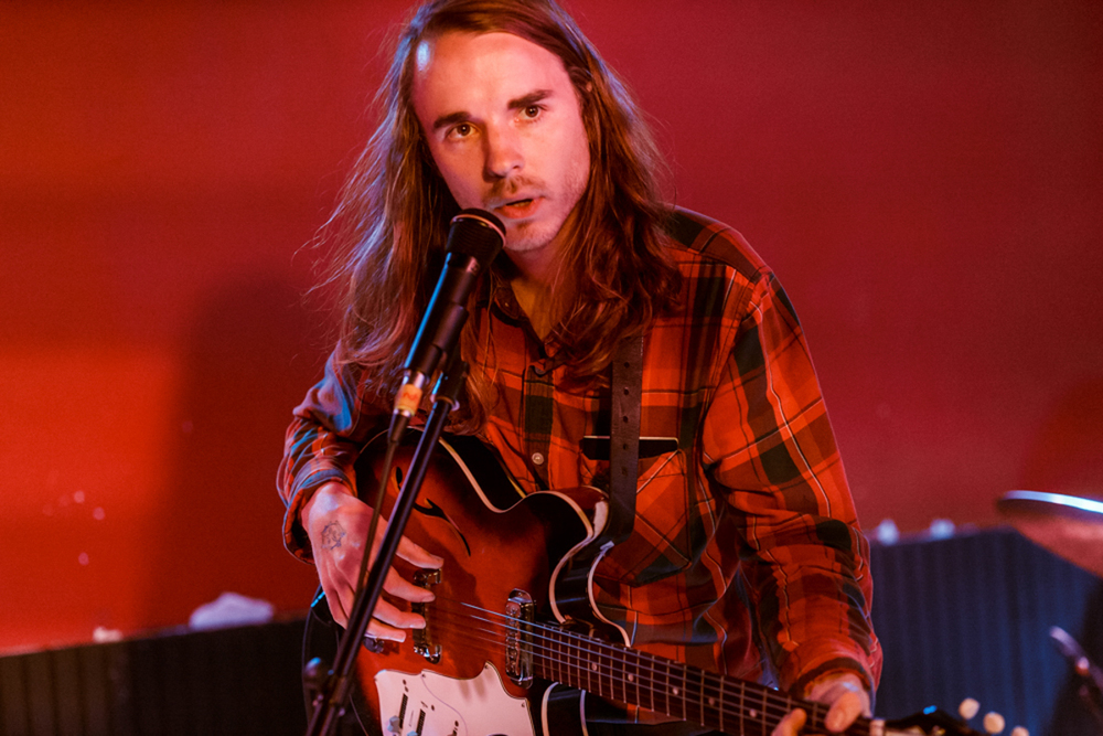 Andy Shauf opening for The Weather Station @ DC9 in Washington, DC - 7/17/15 (photo by Matt Condon)