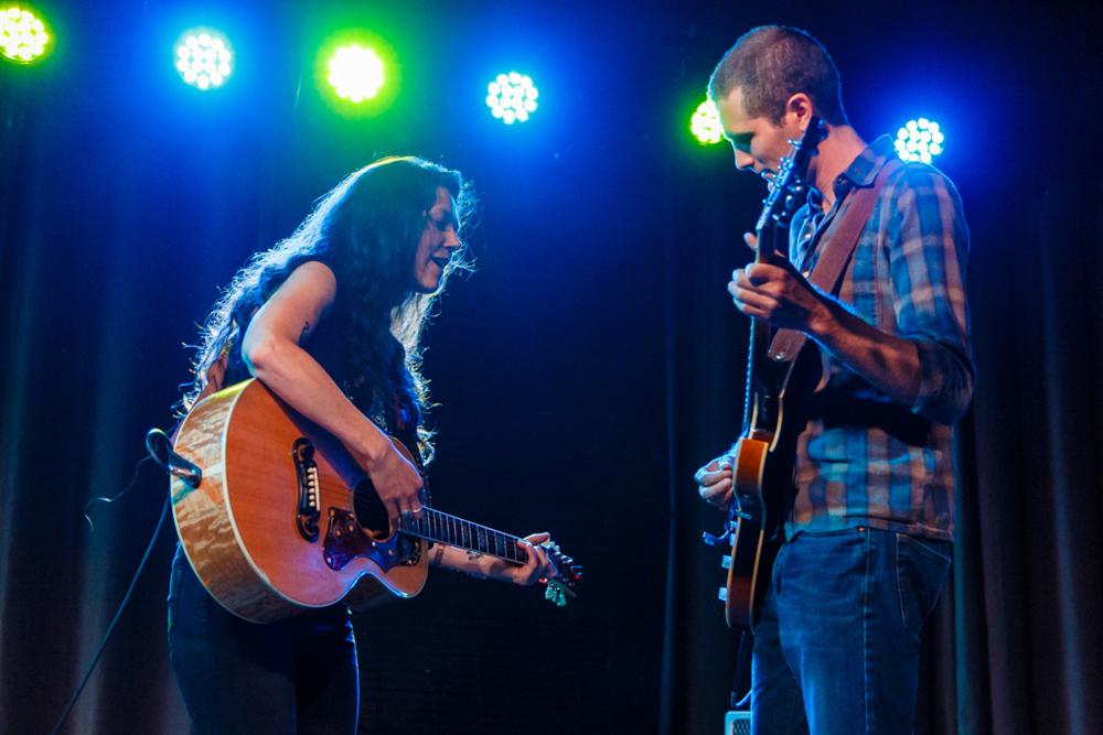 Lilly Hiatt performing at Gypsy Sally's in Washington, DC - 7/22/15 (photo by Matt Condon)