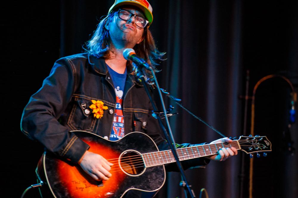 Aaron Lee Tasjan opening for Lilly Hiatt at Gypsy Sally's in Washington, DC - 7/22/15 (photo by Matt Condon)