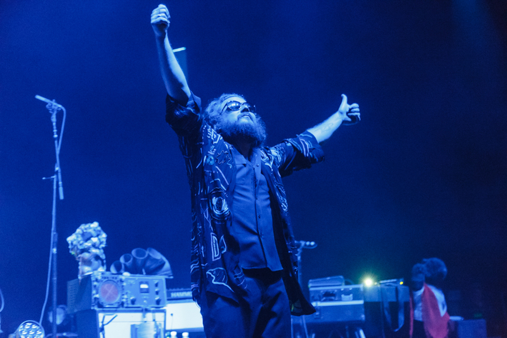 My Morning Jacket performing at Merriweather Post Pavilion in Columbia, MD - 7/26/15 (Photo by Matt Condon)