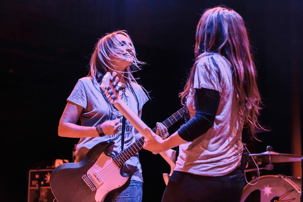 Veruca Salt performing at the 9:30 Club - 8/1/15 (photo by Matt Condon)