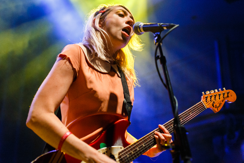 Charly Bliss opening for Veruca Salt at the 9:30 Club in Washington, DC - 8/1/15 (photo by Matt Condon)