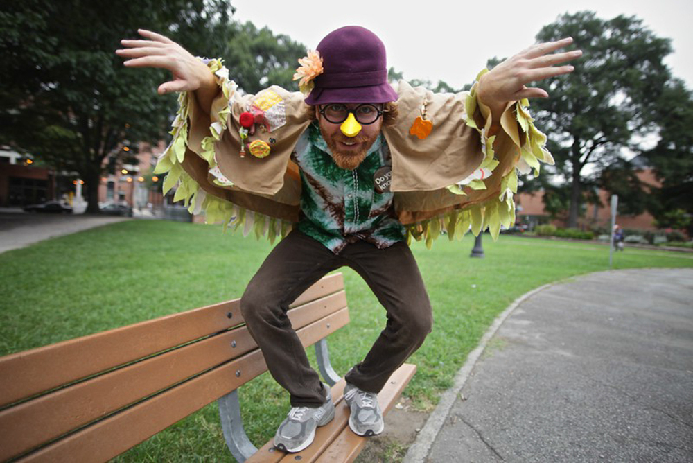 Grandma Sparrow  Megafaun drummer Joe Westerlund's alter ego makes psychedelic children's songs for adults. (Photo by PJ Sykes |  www.pjsykes.com )
