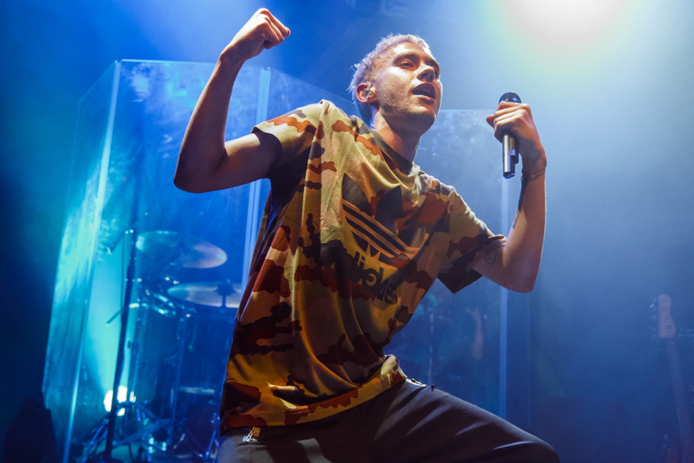 Years and Years performing at the 9:30 Club in Washington, DC - 9/19/15 (photo by Matt Condon)