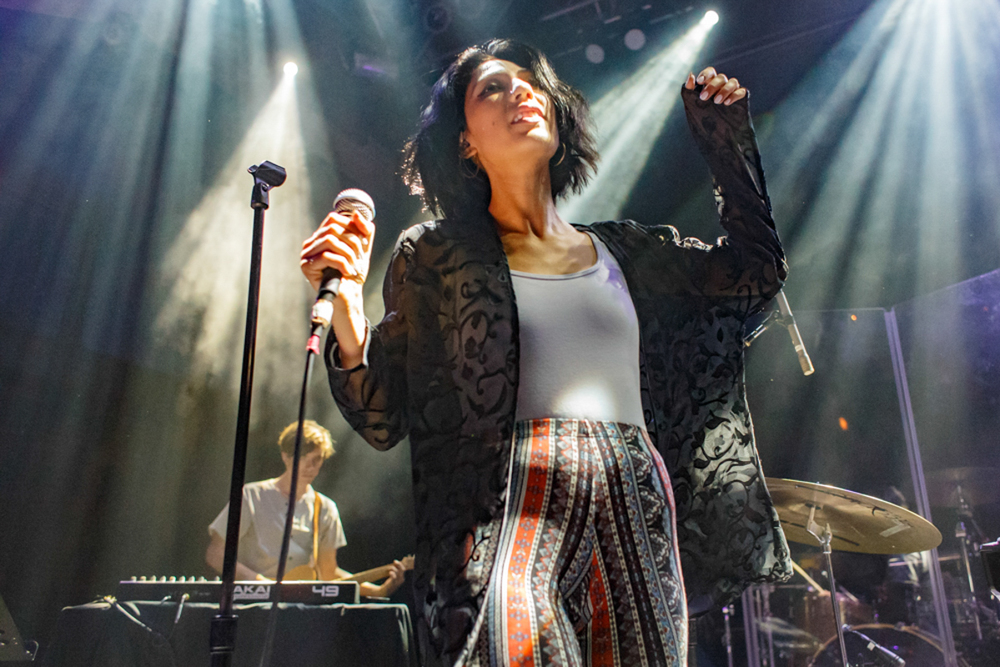 Tei Shi openening for Years and Years at the 9:30 Club in Washington, DC - 9/19/15 (photo by Matt Condon)