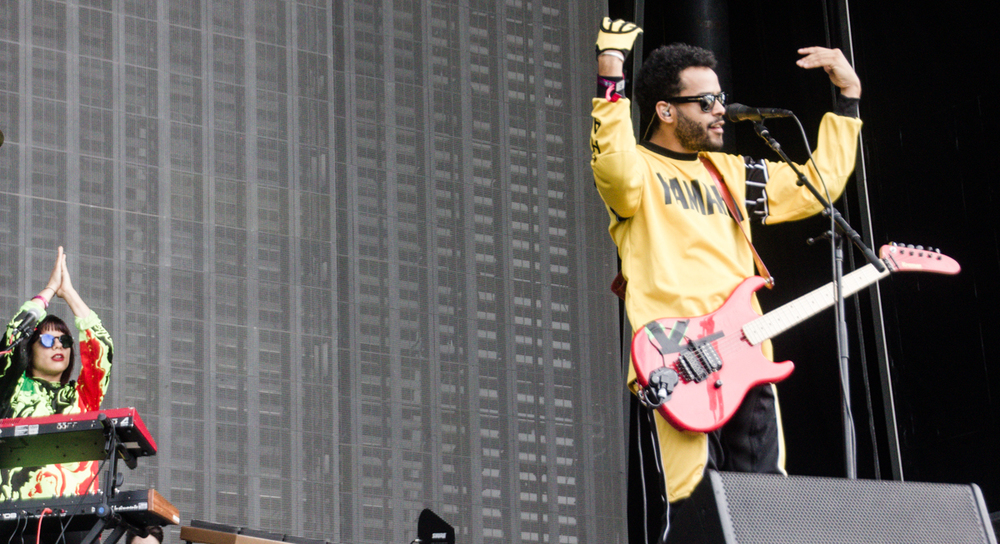 Twin Shadow performing at the 2015 Landmark Music Festival in Washington, DC - 2-26-15 (photo by Kevin Hill)