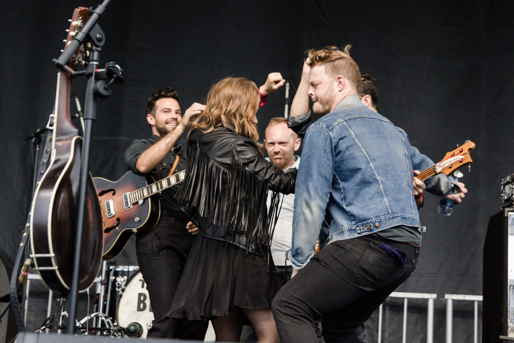 The Lone Bellow performing at the 2015 Landmark Music Festival in Washington, DC - 2-26-15 (photo by Kevin Hill)