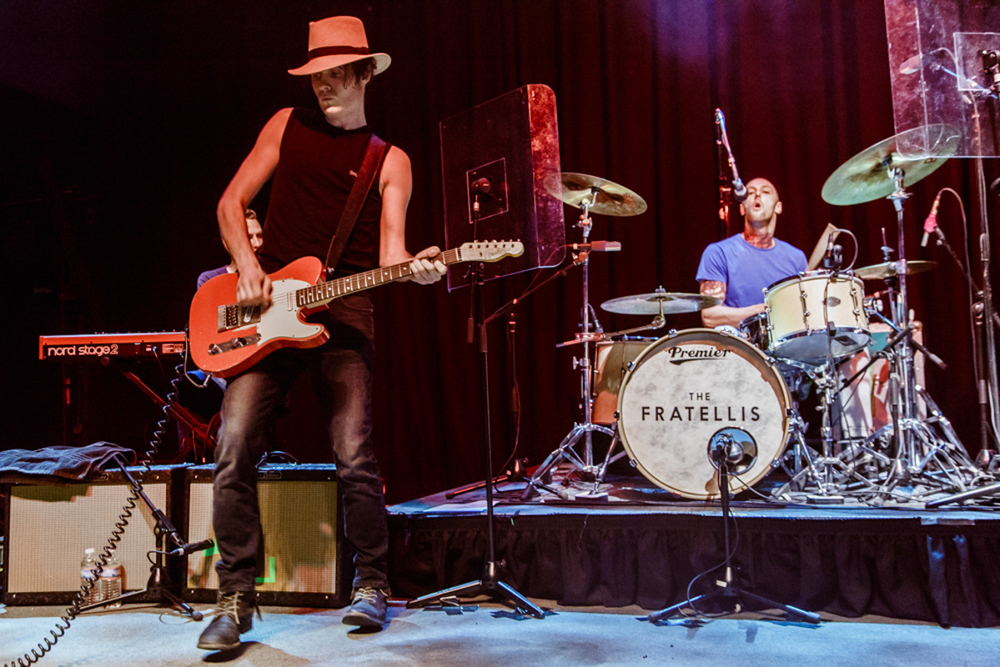 The Fratellis performing at the 9:30 Club in Washington, DC  - 9/21/15 (photo by Matt Condon)