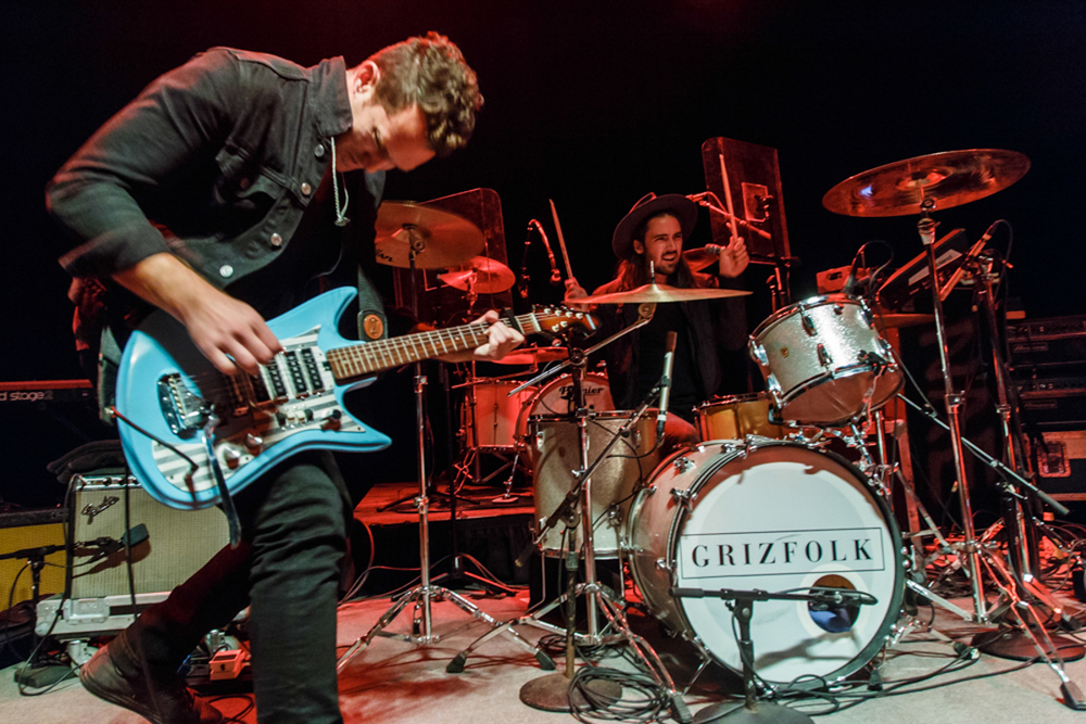Grizfolk opening for The Fratellis at the 9:30 Club in Washington, DC  - 9/21/15 (photo by Matt Condon)
