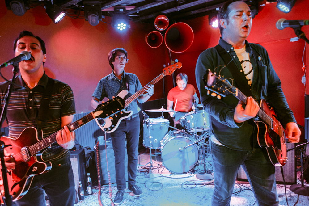 Reigning Sound perfoming at DC9 in Washington, DC - 10/1/15 (photo by Matt Condon)