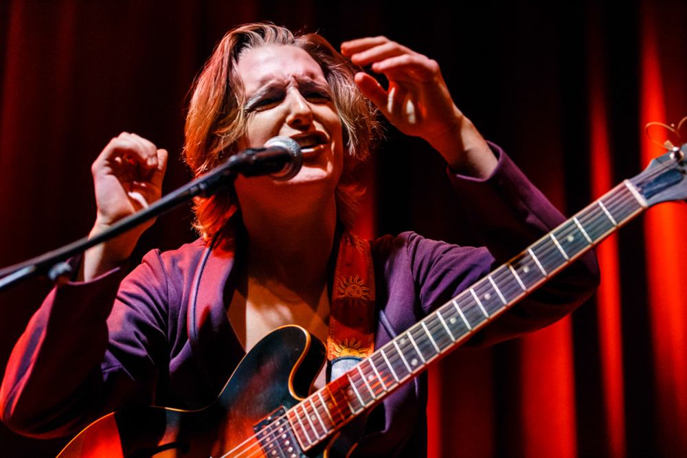 Diane Coffee opening for Luna at the 9:30 Club in Washington, DC on 10/6/15 (Photo by Matt Condon)