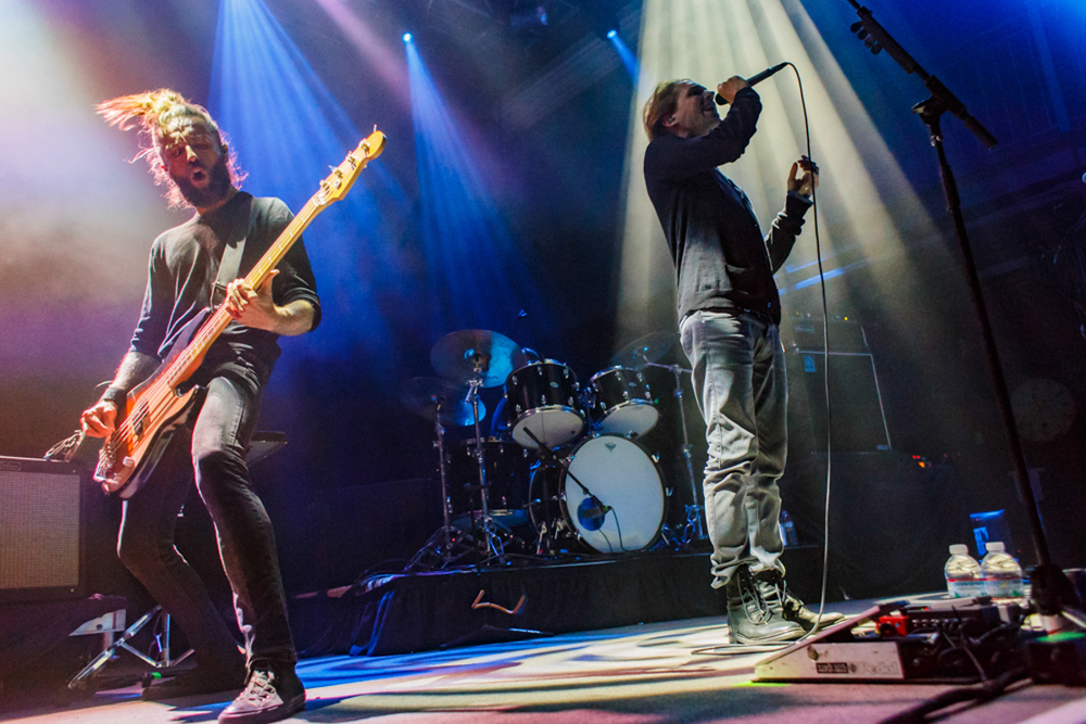 Mew performing at the 9:30 Club in Washington, DC - 10/9/15 (photo by Matt Condon / @arcane93)