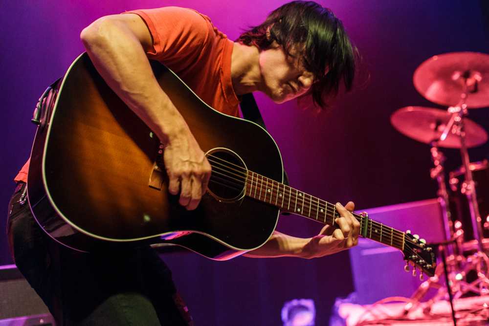 The Dodos opening for Mew at the 9:30 Club in Washington, DC - 10/9/15 (photo by Matt Condon / @arcane93)