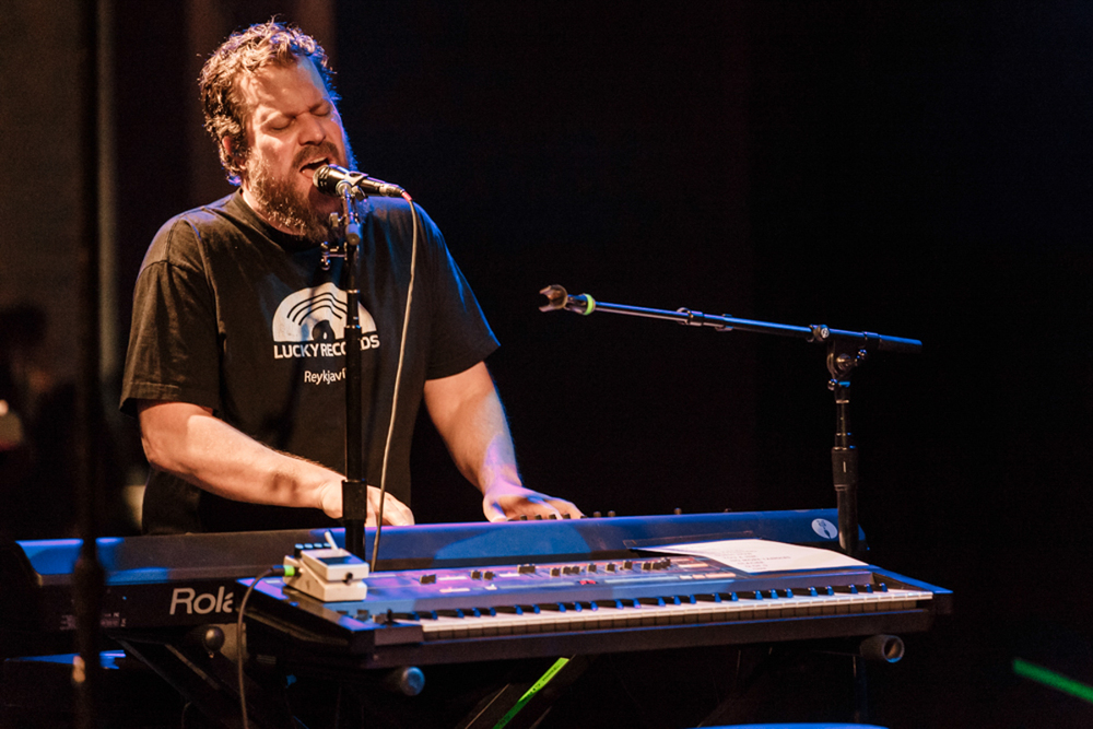 John Grant performing at The Hamilton in Washington, DC - 10-13-15 (photo by Matt Condon/@arcane93)