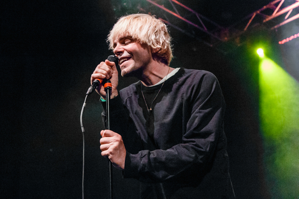 The Charlatans performing at the Howard Theatre in Washington, DC - 11/12/15 (photo by Matt Condon/@arcane93)