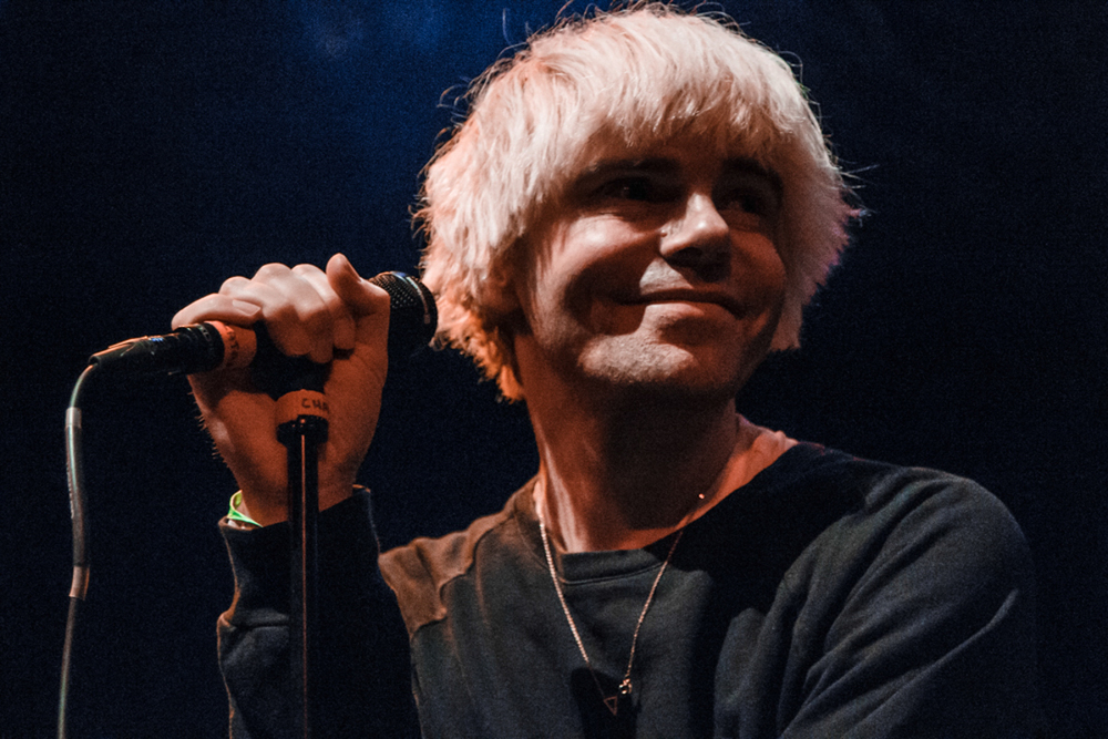 The Charlatans Tim Burgess at the Howard Theatre - 11/12/15 (photo by Matt Condon/ @arcane93 )