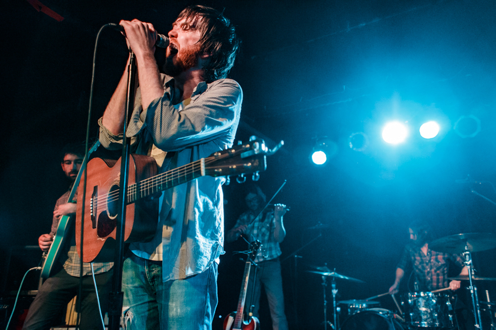 Okkervil River performing at the Black Cat in Washington, DC - 11/20/15 (photo by Matt Condon/@arcane93)