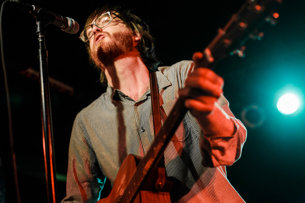 Okkervil frontman Will Scheff reeling in the years at the Black Cat in Washington, DC (photo by Matt Condon/ @arcane93 )