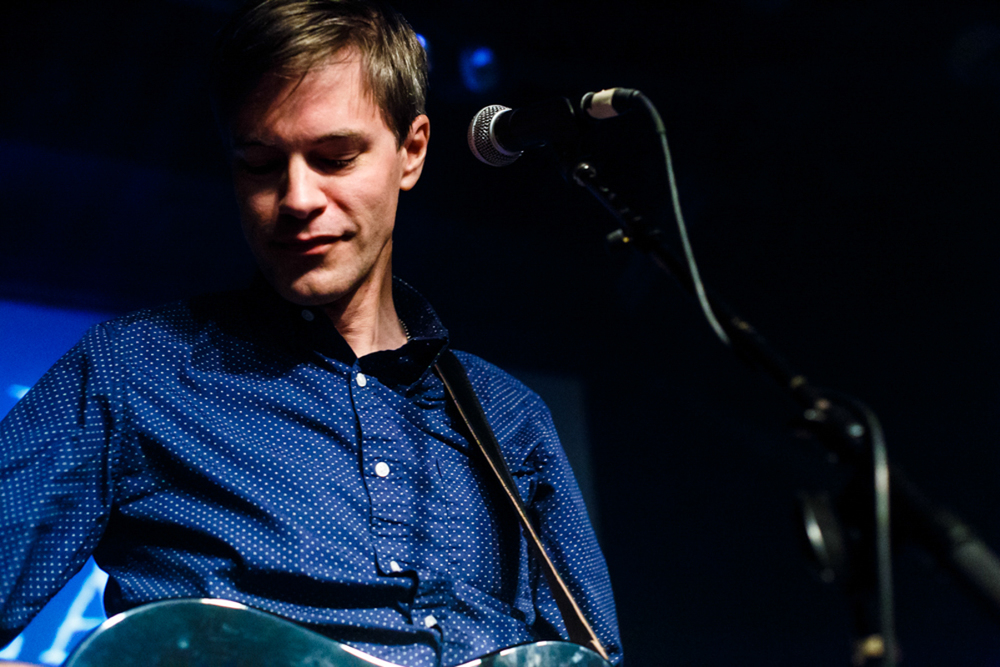 The Ocean blue's David Schelzel at Jammin Java in Vienna, VA (photo by Matt Condon/ @arcane93 )
